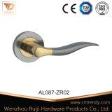 Европейский простой алюминиевый внутренней ручки двери из дерева (AL081-ZR02)