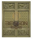 Portello esterno degli elementi di disegno del bronzo di obbligazione cinese di colore
