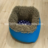 كلب زرقاء جافّ سرير قطيفة جرو سرير كلب قطار [سفا بد]