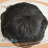 PU (PPG-l-03928)를 가진 완벽한 인간적인 Virgin 머리 남자의 Toupee
