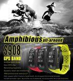 Montres intelligentes de fréquence cardiaque imperméable à l'eau de GPS