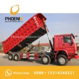 優秀な品質および最もよい価格の使用されたHOWOのダンプトラックのダンプカー375 HP 8X4