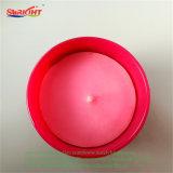 Розовый декоративные хрустальное стекло держатель свечи для свадьбы