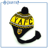 Marca superior Patch Beanies Inverno Earflap personalizada