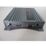 Lettore passivo di difficoltà di frequenza ultraelevata RFID della lunga autonomia 12meter 860MHz-960MHz con RJ45 e RS232