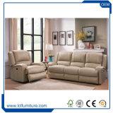 Una mobilia del sofà della casa dell'ufficio di garanzia della qualità dell'insieme di cuoio del sofà dell'unità di elaborazione di 5 Seater