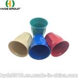 Fördernde kundenspezifische mehrfachverwendbare Tee-Melamin-Bambusfaser-biodegradierbares Cup des Kaffee-7oz