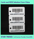 표준 Cr80 0.76mm Barcode의 공구 상점 카드