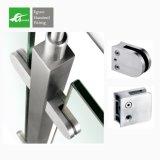 Clip de cristal del acero inoxidable de la abrazadera SS316 304 de D/fabricante de cristal de la abrazadera