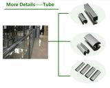 Tubo scanalato dell'acciaio inossidabile di alta qualità 304 per i montaggi dell'inferriata