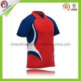 Nouveau design des hommes de l'équipe de cricket de Jersey Indian Cricket personnalisés Polos sublimé l'impression