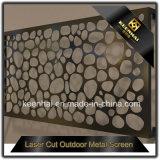 Corte a Laser Sala de Aço Inoxidável decorativa parede divisória