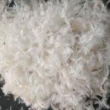 2-4 cm de plumas de pato para el llenado de uso