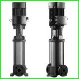 ステンレス鋼の縦の多段式ポンプを搭載する遠心浸水許容ポンプ