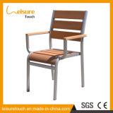 Hotel en el exterior de aluminio de madera de plástico Café Jardín silla del reposabrazos Home muebles Ocio