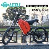 TFT 전시를 가진 최고 인기 상품 모터 자전거 5000W 72V 전기 자전거
