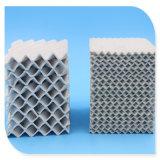 Empaque estructurado de cerámica en la industria química