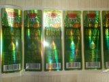 Escrituras de la etiqueta de empaquetado de las etiquetas engomadas de la botella transparente adhesiva impermeable de /Cosmetic en rodillo