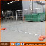 Painel de cerco provisório portátil removível para o local de edifício