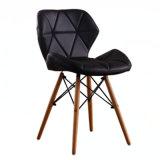 Cadeira de jantar estilo EMS Pernas de madeira a Altura do Assento 18'' da capacidade de peso 300 Plus Lbs Fácil montagem durabilidade extra confortável Red