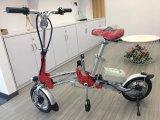 красный цвет велосипеда миниой складчатости 12inch электрический