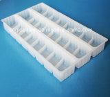 Bandeja plástica disponible del embalaje del rectángulo de las bolas de masa hervida de los PP