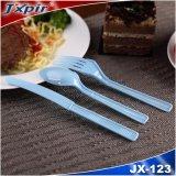 Großhandelswegwerfplastiktischbesteck-Gabel-Messer und Löffel