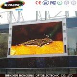 Indicador de diodo emissor de luz ao ar livre cheio da cor P10 para o anúncio grande