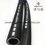 Flexibler Stahldraht-verstärkter hydraulischer Gummischlauch