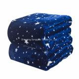 [Punkt-Verkaufs-] Flanell-Vlies-Zudecke angepasst - Sterne