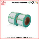Escritura de la etiqueta auta-adhesivo termal de la calidad superior
