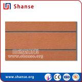 Azulejo de madera suave artificial natural respirable de la pared de Handfeel con Ce