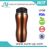 Tasse de café de thermos d'acier inoxydable de l'Europe 16 onces