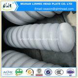 Tube en acier inoxydable AISI 316/304 bouchon d'extrémité tête concave
