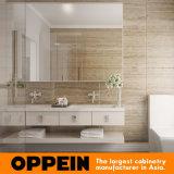 Vanità bianca moderna della stanza da bagno del doppio della lacca della villa di Oppein Australia (BC15-L03)