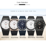Designer de OEM Sport Relógios de quartzo régua de aço inoxidável Mens bateria de relógio de pulso Marcas Belbi Nome