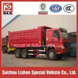 アフリカへの販売のエクスポートのための中国6*4のダンプカートラックEuro2のダンプトラック