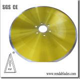 610 680 870 SKD11 D2 Registro de vuelta la hoja de sierra cortadora circular para tejidos/Corte de Papel higiénico