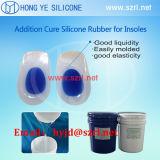 Le caoutchouc de silicone liquide de catégorie médicale pour la fabrication de semelle intérieure