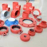 Flangia Grooved standard di spaccatura di ASTM con approvazione dell'UL