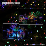 Árvore de parede de Aterramento Multicolorful String Solar lanterna LED decoração faixa de luz da lâmpada