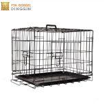 Grande gabbia all'ingrosso esterna dell'animale domestico del metallo della rete metallica