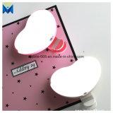 Lampada Heart-Shaped di supplemento del telefono mobile della lampada chiara istantanea per agrafe di Selfie LED