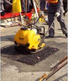 Compactor плиты песка асфальта конкретный