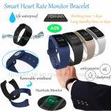Bracelet intelligent avec l'oxygène A09 de fréquence cardiaque et de pression sanguine et de sang