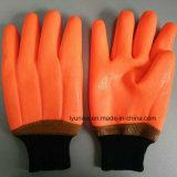 Пвх для тяжелого режима работы Resiatance химических веществ зимние перчатки