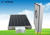 Réverbère solaire Integrated intelligent de détection automatique du contrôle de temps DEL