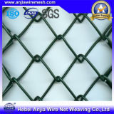 Galvanized Caldo-Dipped Chain Link Fence con Ce per Building Materials