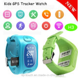 Relógio de venda quente do perseguidor do GPS dos miúdos com seguimento do tempo real (H3)