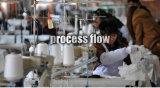 女性のColofulの管のソックス(UBM1036)の100%年の綿
